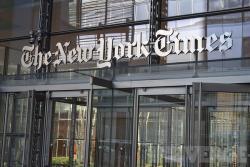Издание The New York Times изменило снимок с картой Украины без Крыма