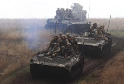 Украина провела военные маневры по противодесантной обороне побережья Азовского моря