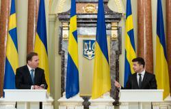 В Киеве состоялась встреча Президента Украины и Премьер-министра Королевства Швеция