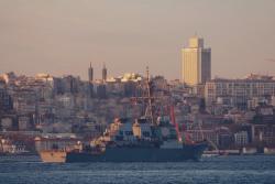 В Черное море зашел ракетный эсминец ВМС США