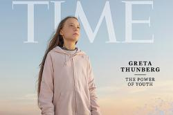 "Журнал Time назвал ""человеком 2019 года"" Грету Тунберг"