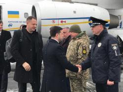 Владимир Зеленский пребывает с рабочей поездкой в Ивано-Франковской области