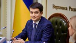 Разумков подписал Избирательный кодекс, принятый с предложениями президента