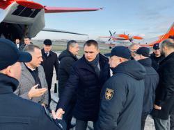 В Одессу прибыла правительственная комиссия по расследованию причин пожара в колледже