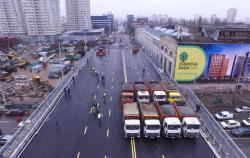 В Киеве состоялись технические испытания Шулявского путепровода