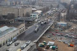 На Шулявском мосту в Киеве открыли движение