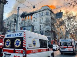 Пожар в Одесском колледже: количество пострадавших возросло до 27 человек
