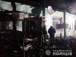 В Луганской области горел психоневрологический интернат