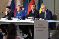 """""""Нормандская четверка"""" выступила за внесение изменений в конституцию Украины по формуле Штайнмайера"""