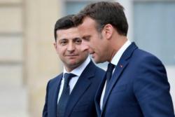 Президенты Украины и Франции обсудили сотрудничество в расследовании сбитого самолета МАУ в Иране