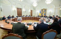 СНБО рассмотрел проект Стратегии национальной безопасности Украины