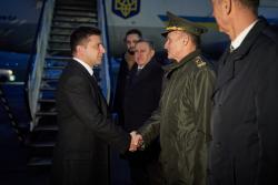 Начался рабочий визит Президента Украины в Республику Польша