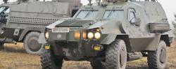 Украинские броневики прошли масштабные испытания