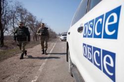 Боевики не пустили наблюдателей через блокпост Верхнешироковского