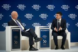 Президент Украины в Давосе назвал свои предложения инвесторам