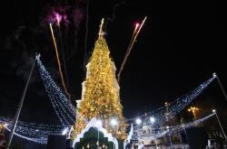 Главная елка Украины вошла в пятерку лучших в Европе