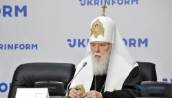 Филарет отозвал свою подпись под постановлением Поместного собора о ликвидации Киевского патриархата