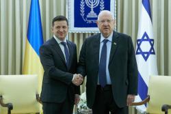 Зеленский ожидает увеличения товарооборота с Израилем до $ 2 млрд
