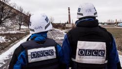 ОБСЕ зафиксировала танки и гаубицы оккупантов за линией отвода