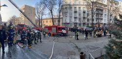 Пожар в админздании Министерства культуры ликвидирован