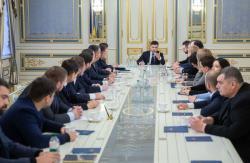 Президент обсудил с народными депутатами вопрос реформы децентрализации