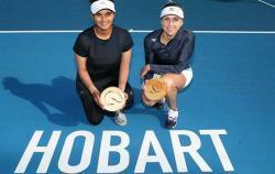 Украинская теннисистка выиграла парный турнир WTA в Хобарте