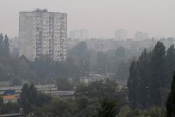 Из-за погодных условий в Киеве наблюдается ухудшение состояния воздух