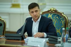 Владимир Зеленский провел совещание при участии представителей Кабмина и Верховной Рады
