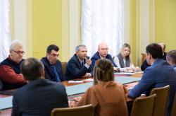 В Офисе Президента обсудили предложения по решению экономических проблем Донбасса