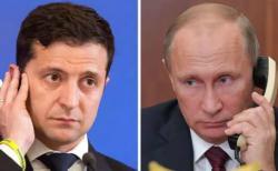 Президент Украины провел телефонный разговор с Президентом РФ