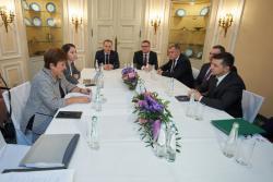 Президент Украины встретился с директором-распорядителем Международного валютного фонда