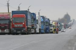 Мининфраструктуры удовлетворило требования протестующих дальнобойщиков