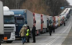 Протесты водителей фур: в Украине блокируют трассы