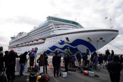 Еще один украинец заразился коронавирусом на борту Diamond Princess - СМИ