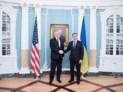 Министр иностранных дел Украины встретился с заместителем госсекретаря США