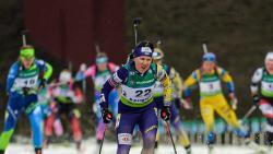Украинские биатлонисты завоевали третью медаль на чемпионате Европы по биатлону