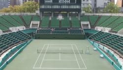 Теннисные матчи Кубка Дэвиса в Японии пройдут без зрителей