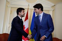 Владимир Зеленский и Джастин Трюдо обсудили взаимодействие Украины и Канады в борьбе с распространением коронавируса