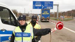 ФРГ с 16 марта закрывает границы с Францией, Австрией и Швейцарией