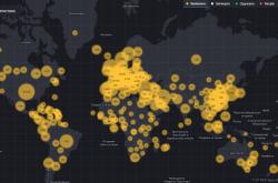 В Украине запустили онлайн-карту распространения коронавируса