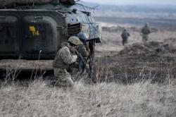 Боевики на Донбассе 10 раз нарушили режим тишины - ООС