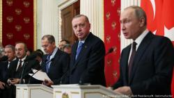 Путин и Эрдоган договорились о новом перемирии в Сирии