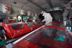 В Украине на дежурство заступил спецвертолет для перевозки больных коронавирусом