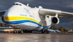 """Ан-225 """"Мрия"""" доставил медгрузы в Украину"""