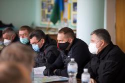 Андрей Ермак проконтролировал ход локализации лесных пожаров на Житомирщине