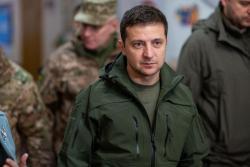 Владимир Зеленский прибыл в Покровск Донецкой области