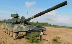 На Черниговщине прошли испытания модернизированного танка Т-72