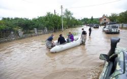 В результате наводнения в западных областях Украины подтоплены дома в 180 населенных пунктах