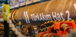 Транспортировка газа по обеим ниткам газопровода Турецкий поток временно приостановлена