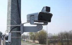 В Киеве и области заработали первые видеокамеры автофиксации нарушений правил дорожного движения.